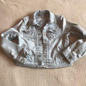 Girls Gap Grey Jean Jacket